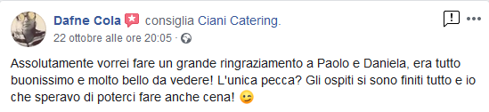 Screenshot_2019-10-24 Ciani Catering - Recensioni