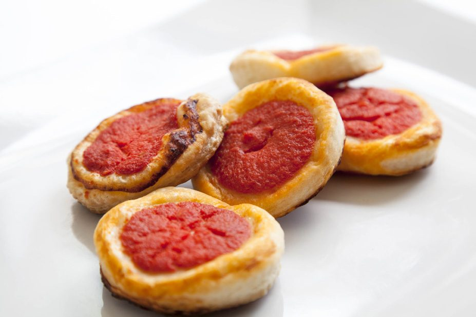 pizzette rosse-cianicatering-catering ed eventi roma nord, corso francia, fleming