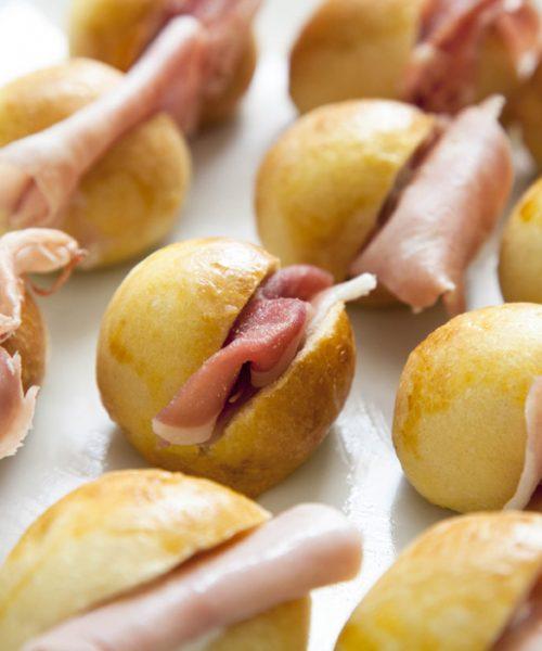 panini ripieni con prosciutto-catering ed eventi roma nord, corso francia, fleming